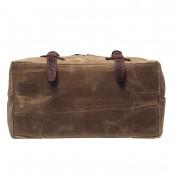 03PL WAXVINTAGE® woskowany płócienny plecak bawełniany damski / męski. Dodatki skórzane. Kolor  khaki