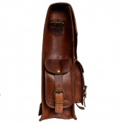 """TP3 Wielofunkcyjny skórzany plecak - raportówka VINTAGE 3™ damski / męski. Idealny na laptopa. Rozmiar: 10,5"""""""