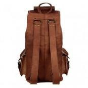 "TP6 Mały skórzany plecak VINTAGE 6™ damski / męski. Idealny na laptopa. Rozmiar: 16"""