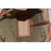 "TP9b Nieduży skórzany plecak VINTAGE 7™ damski / męski. Idealny na laptopa. Rozmiar: 16"""
