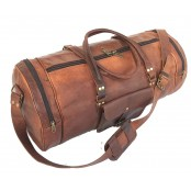 "TP2  SHIBAR VINTAGE™ Skórzana torba podróżna / weekendowa na ramię. Skóra naturalna. Rozmiar: 20"""