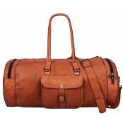 "TP3 SHIBAR II VINTAGE™ Skórzana torba podróżna / weekendowa na ramię. Skóra naturalna. Rozmiar: 20""-30"""