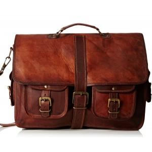TA3 Skórzana teczka, torba na laptopa.  Ręcznie robiona. Skóra naturalna