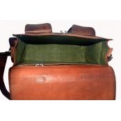 TA2 Skórzana aktówka torba na ramię DAILY VINTAGE. Skóra naturalna