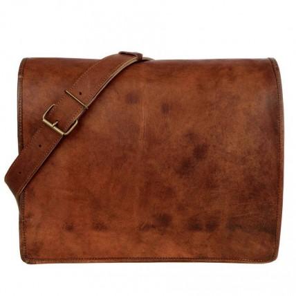 """TA11 Skórzana teczka torba na laptopa. Ręcznie robiona. Skóra naturalna. Rozmiary: 9""""-18"""""""