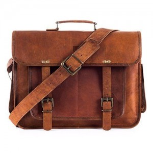 """TA12 Skórzana teczka torba na laptopa. Ręcznie robiona. Skóra naturalna. Rozmiar: 16"""""""