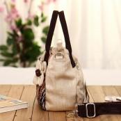 Damska torba na ramię FLOWER™ bawełna Handmade