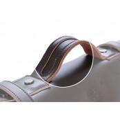 #004 Torba Listonoszka 'Messenger II' płótno-skóra sztuczna, Unisex