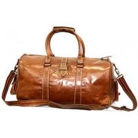 #P2 'Portland' ™ Torba podróżna Vintage, skóra naturalna, brązowawy