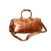 d7468fc7a41d4 #P2 'Portland' ™ Torba podróżna Vintage, skóra naturalna, brązowawy