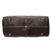 Z#P6'Portland II' ™ Torba podróżna Vintage, skóra naturalna, brązowa,
