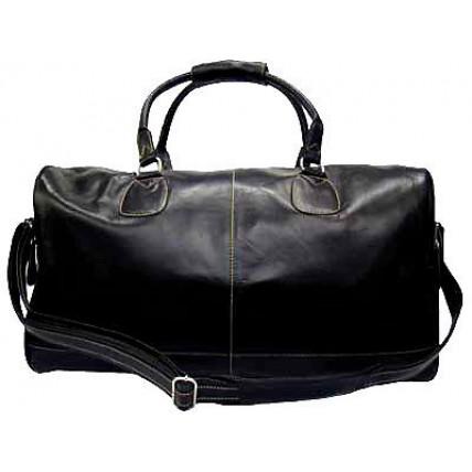 2c4953eaff8ad #P8 'Portland II' ™ Torba podróżna Vintage, skóra naturalna, czarna