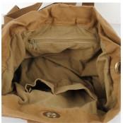 PZ7 'Vamp 8 Vagabound' płócienno-skórzany worek marynarski, Unisex, khaki