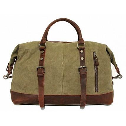 #PZ1 'Vamp 1 Vintage'™ torba podróżna płótno-skóra, Unisex