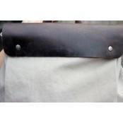 A4097 CYRIELLE 2w1™ Plecak - torba na ramię płótno - skóra naturalna damska