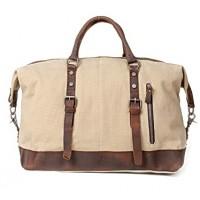 A4112c 'Vamp 1 Vintage'™ torba podróżna płótno-skóra, Unisex