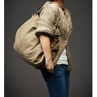 25 ''ARTVamp' Torba na ramię bawełna-skóra, unisex