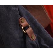 438 JACKS™ Torba na ramię bawełna skóra naturalna