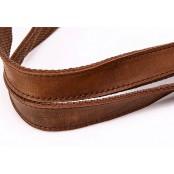 A4118 MESS  VINTAGE™ Torba na ramię bawełna skóra naturalna (khaki, zieleń, szary)