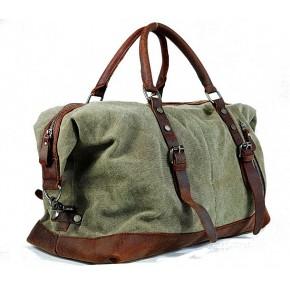 A4112 'Vamp 1 Vintage'™ torba podróżna płótno-skóra, Unisex