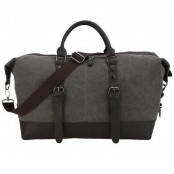 A4112a 'Vamp 1 Vintage'™ torba podróżna płótno-skóra, Unisex