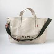 A397 WTVUA™ S uniwersalna torba płócienna unisex. Rozmiar S