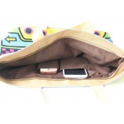 3. Damska torba na ramię, bawełna