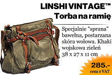 torba na ramię chlebak bawelniany canvas bag